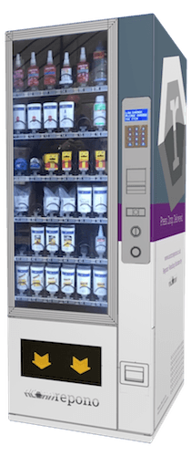 Industrial vending machine